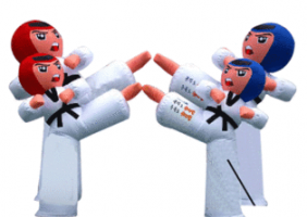 Inflatable advertising figures