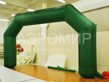 Arch decorating 4 x 3 m green