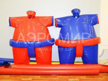 Red and blue suit SUMO