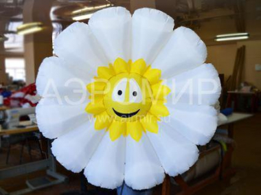 Chamomile inflatable flower single