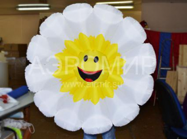 Chamomile inflatable flowers