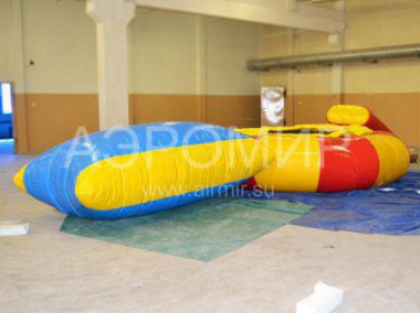 Inflatable water attraction 4 in 1
