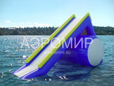 "Inflatable slide ""Shuttle"" for water"