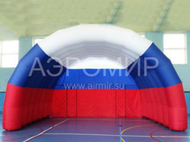"Large inflatable Scene ""Arched"" 8 x 5 x 5 m tricolor"