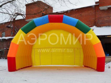 "Inflatable Scene ""Arched"" 8 x 5 x 5 m for holidays"