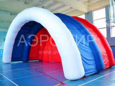 "Inflatable scene ""Arched-1"" Russian tricolor"