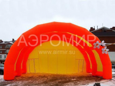 "Large Inflatable Scene ""Arched"" 12 x 6 x 6 m"