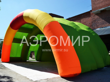 "Scene ""Arched"" 12 x 6 x 6 m inflatable"