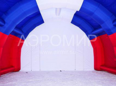 "Inflatable Scene ""Arched"" 8 x 5 x 4 m tricolor"