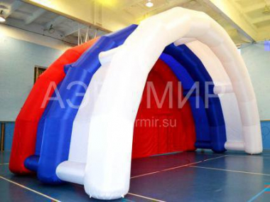 Large inflatable stage Arched-1