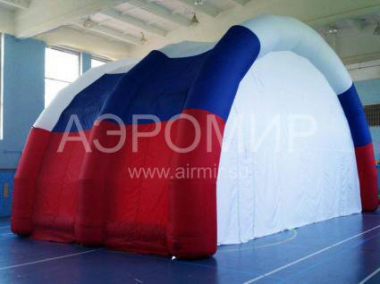 Inflatable scene Arched-1 tricolor