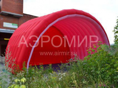 "Inflatable Scene ""Arched-2"" 14 x 8 x 8 m red"