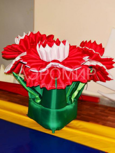 "Inflatable flower ""Carnation"" single"