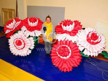 "Inflatable flower ""Carnation"""