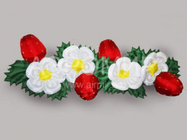"Inflatable flowers ""Strawberry"""