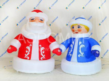 Inflatable Snow Maiden Blue