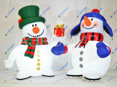 Inflatable Snowman Standard 3 m