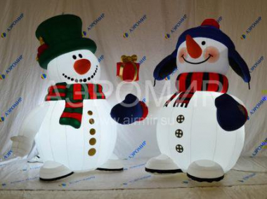 Snowman Standard 3 m with backlight