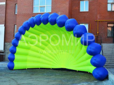 "Inflatable Scene ""Shell"" 8 x 4 x 4 m"