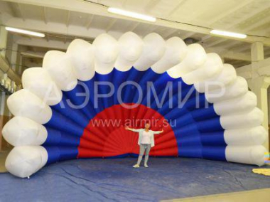 Festive Inflatable Shell Scene 8 x 4 x 4 m