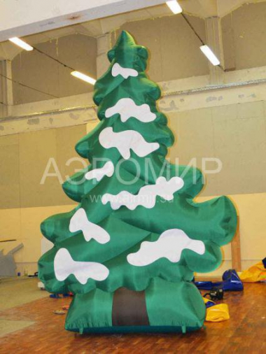 Inflatable figure Fir-tree snow