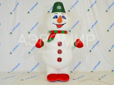 Pneumatic suit Snowman (fur)