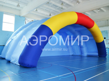 Large Inflatable Arch Scene