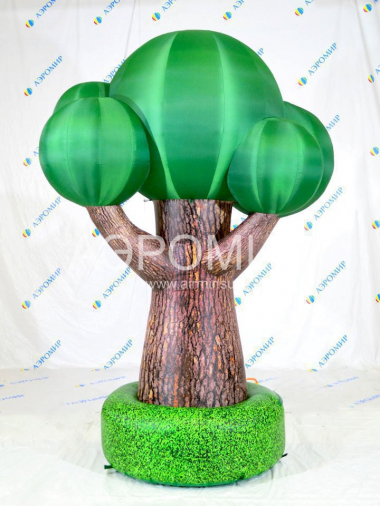 Inflatable trees
