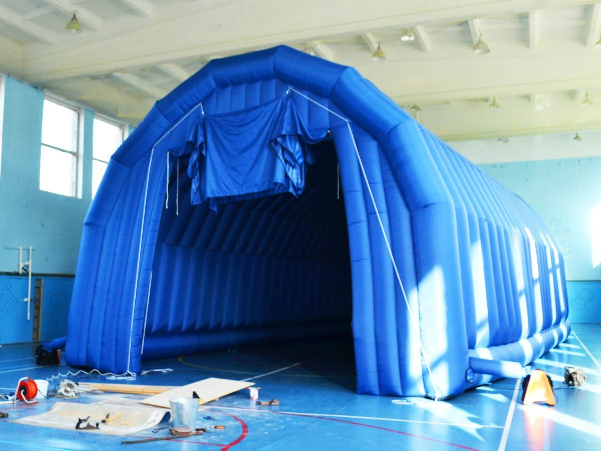 We make inflatable hangars to order