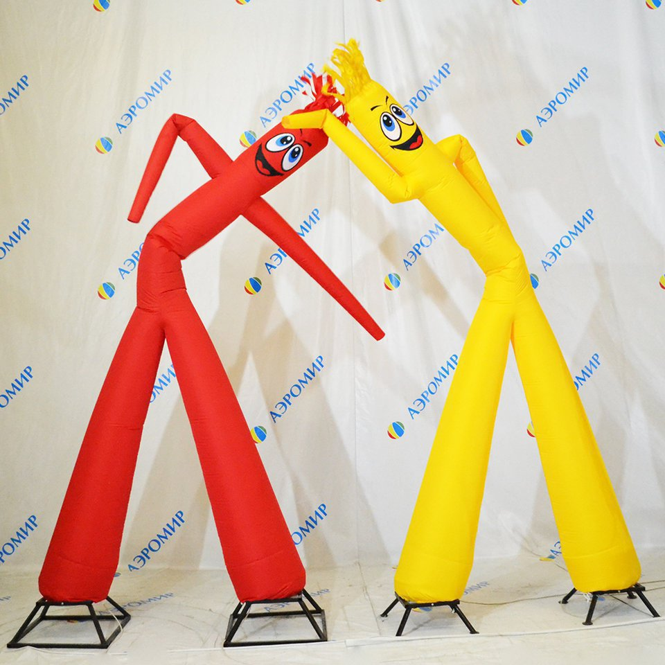 2 simple aeromen yellow and red