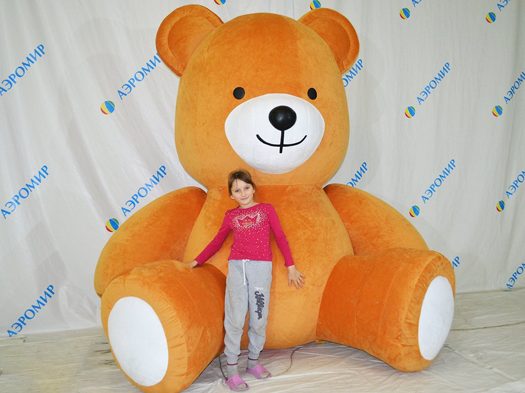 Big inflatable teddy bear