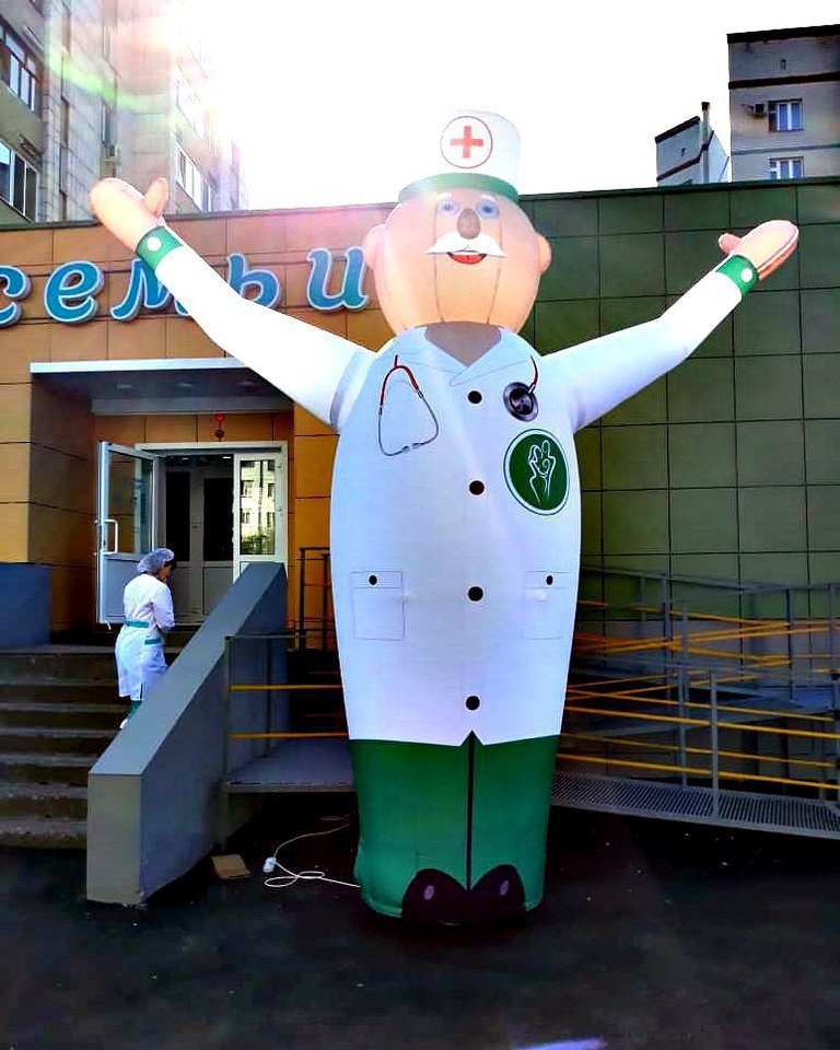 Hand-waving Doctor for Medical Medical Diagnostic Centers Network
