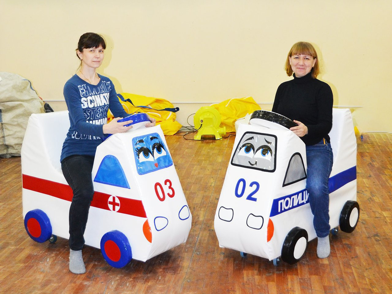 "Soft module ""Cars"" (large size for adults)"