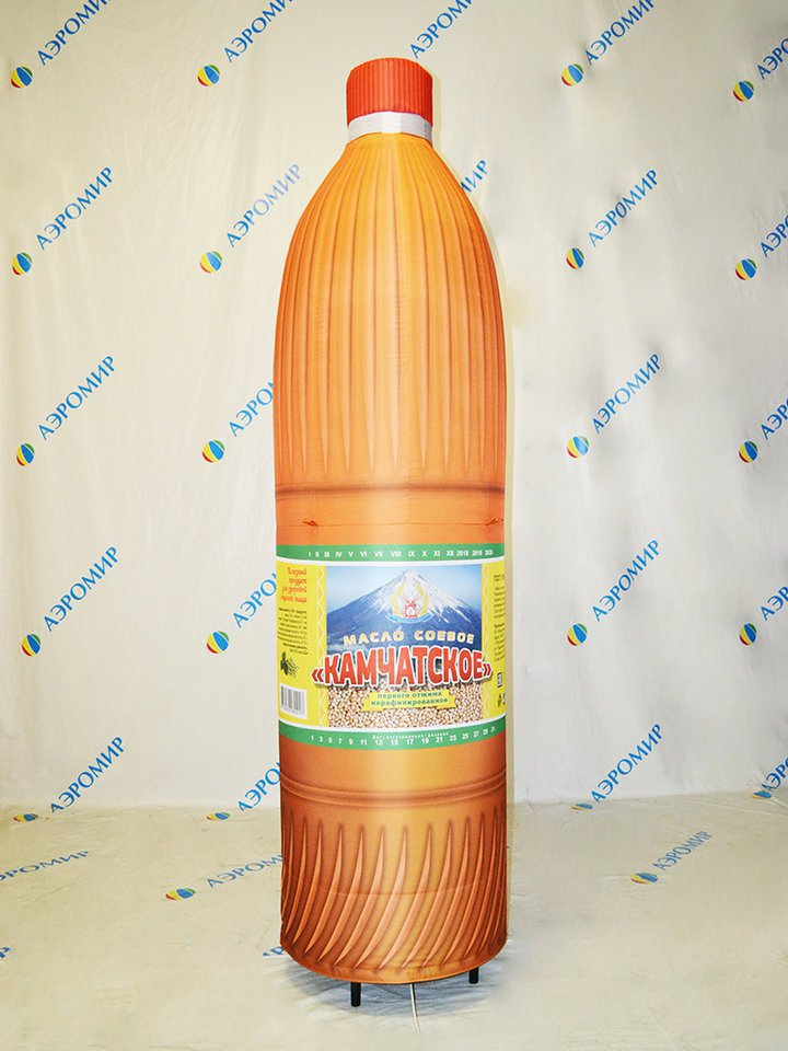 Inflatable bottle for oil Kamchatsky (copy products)