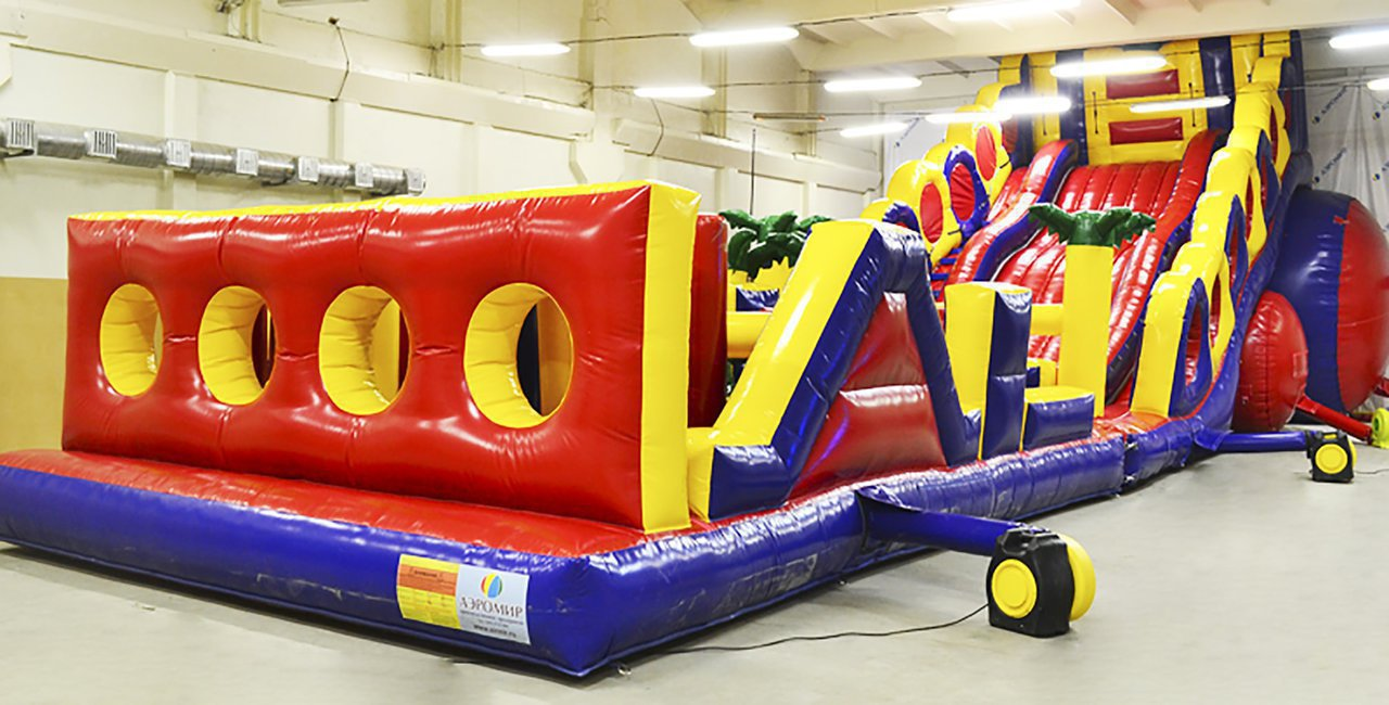 Sports inflatable obstacle course SNP-25.