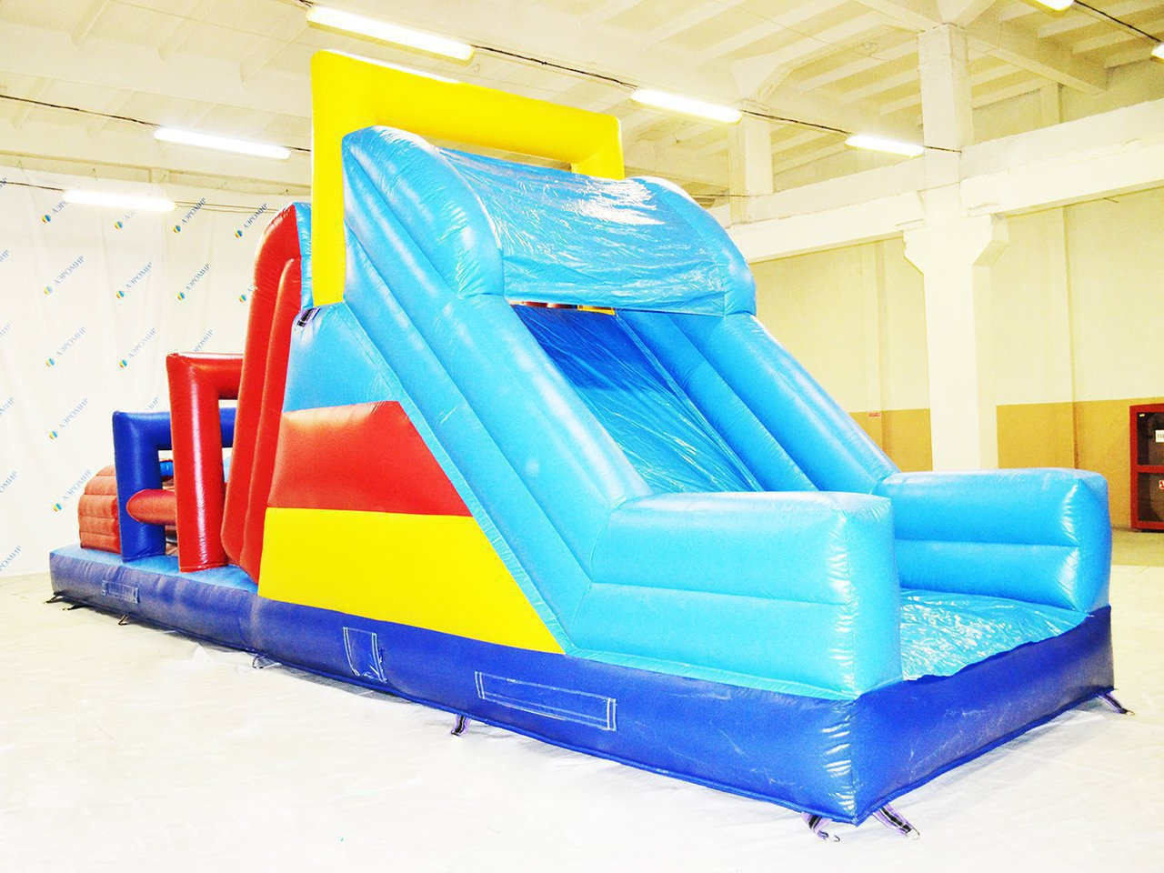 Inflatable obstacle course (one link) for Surgut
