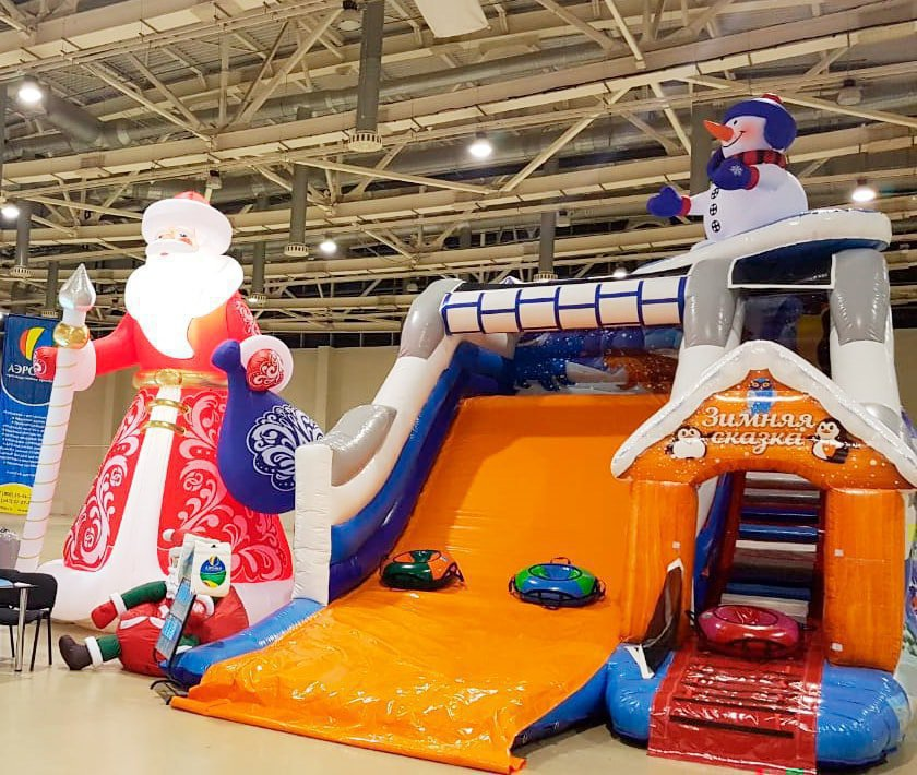 Attraction Turnkey inflatable winter hill