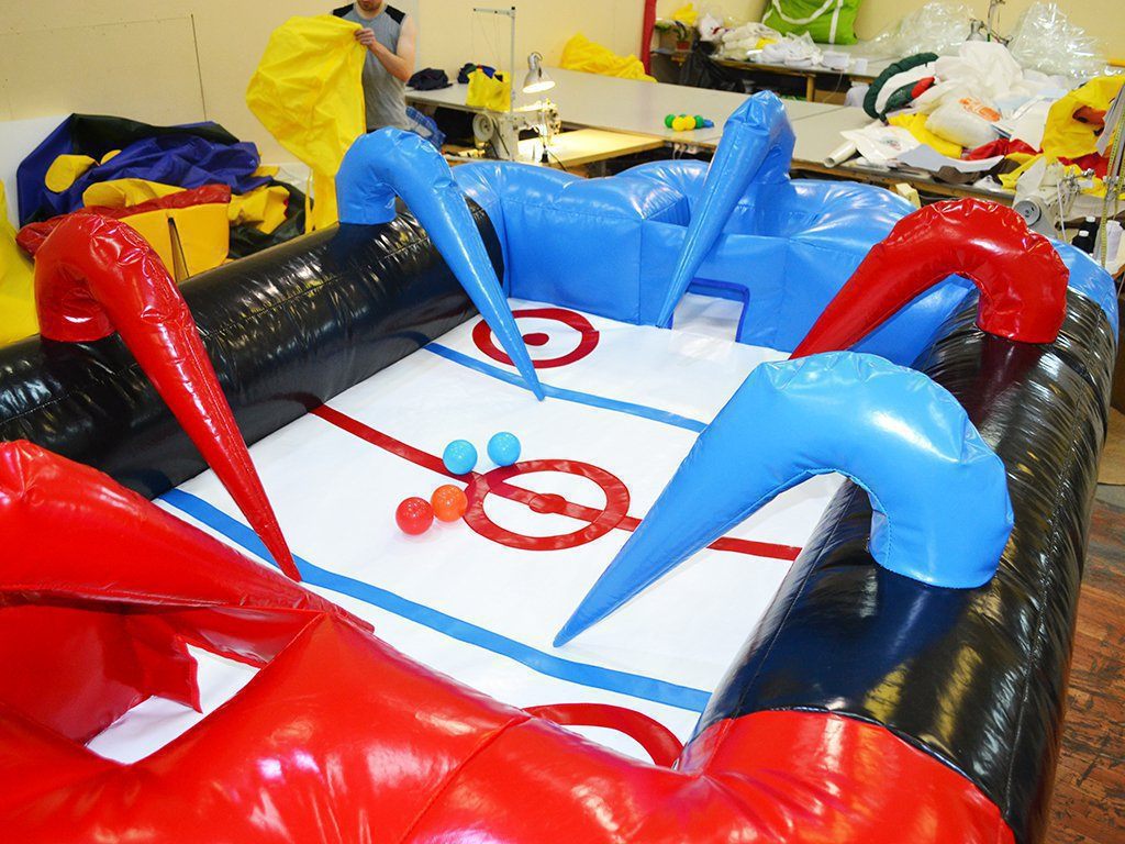 Inflatable air hockey for Chelyabinsk