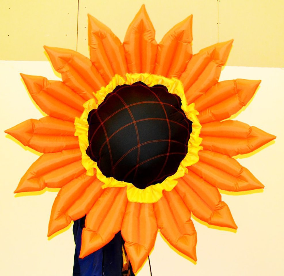 Simple Inflatable Flower Sunflower