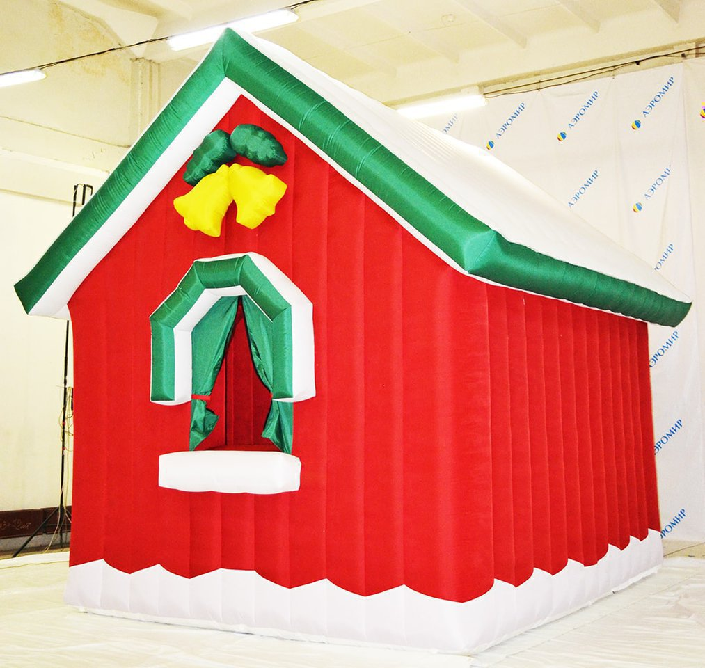 Santa Claus Inflatable House