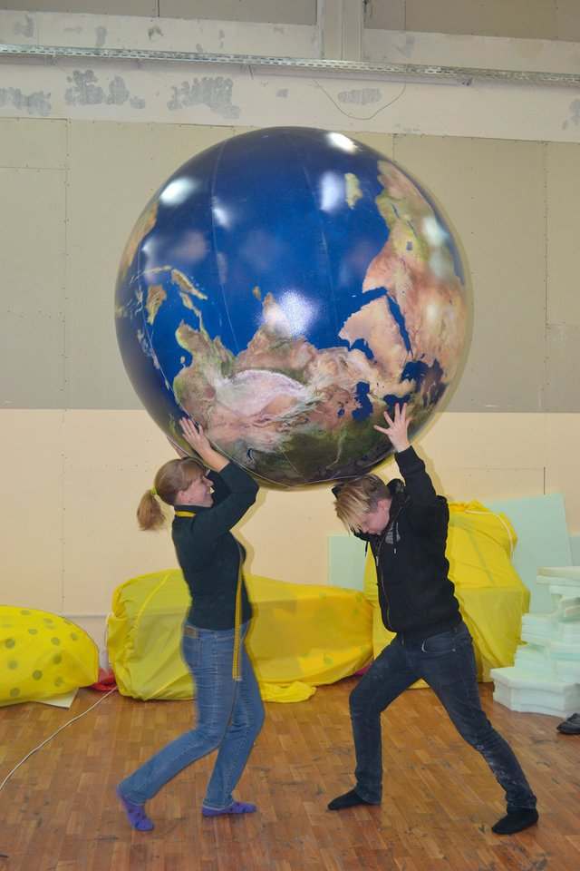 Inflatable Globe - Globe - Earth (individual order)