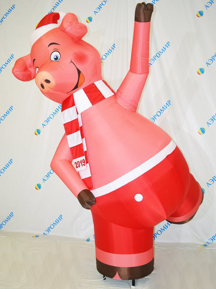 Inflatable symbol of 2019 Pig