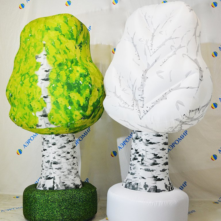 Inflatable trees - birch