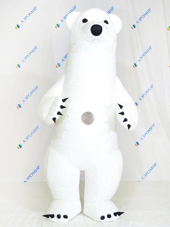 "Pneumosuit ""White Bear"" for advertising"