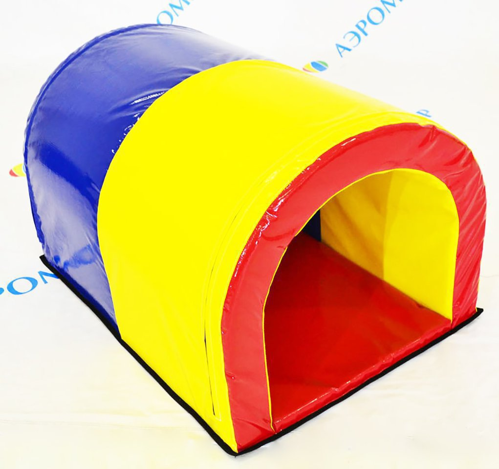 Sports soft module tunnel for games, relays and children's rooms